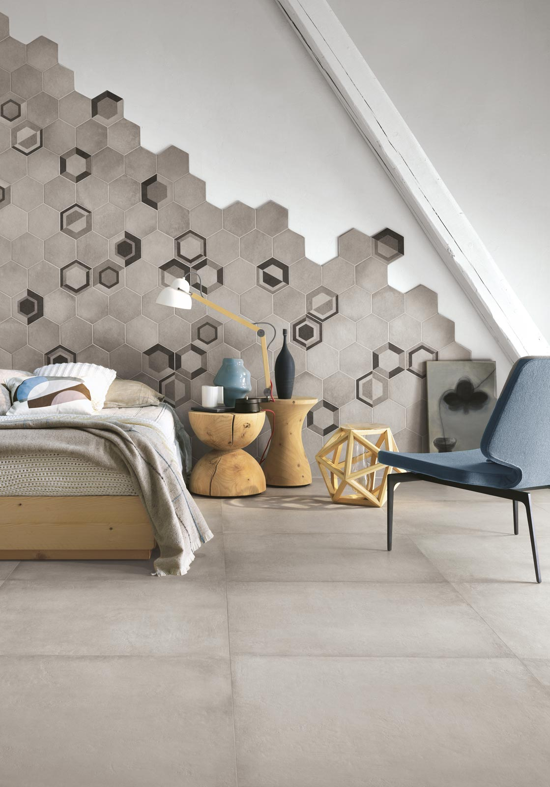 Rewind  Piastrelle effetto mosaico in gres porcellanato