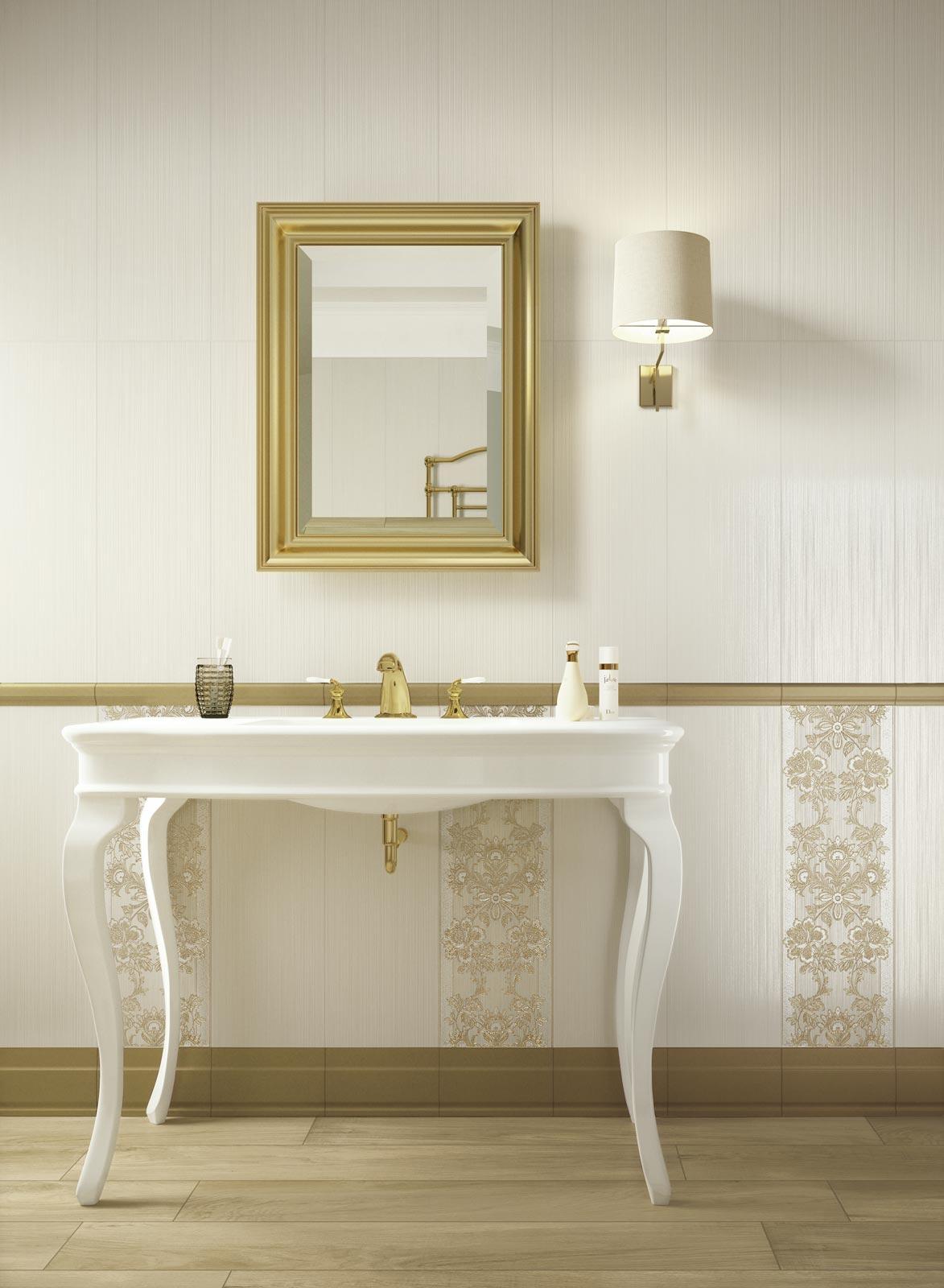 Collezione Wallpaper Rivestimenti classici per il bagno  Ragno