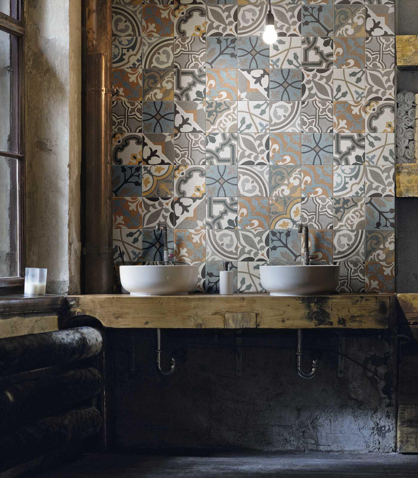 Abitare 20x20 Tiles with an Eclectic Flavour  Ragno