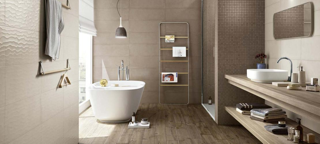 Rewind Wall Collection terracotta and concrete effect