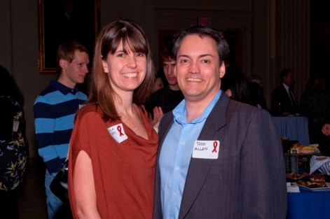 Dr. Todd Allen and Jessica
