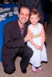 Dr. Daniel Kaufmann and daughter