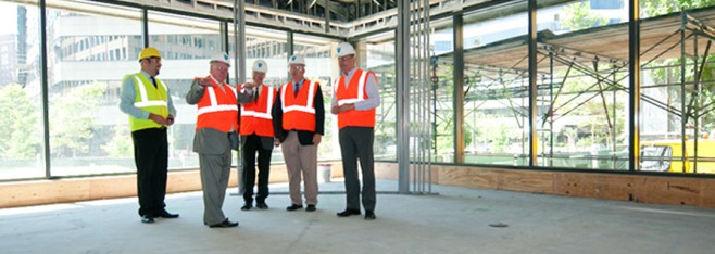 Newsletter Vol 9: Ragon Institute Nears Completion of New Office and Lab Space