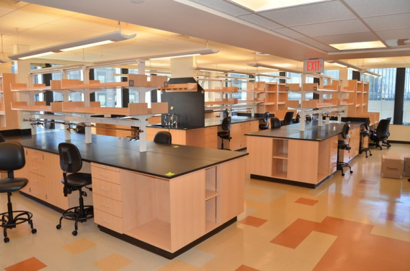 Increased lab bench space
