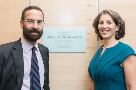 Mark and Lisa Schwartz