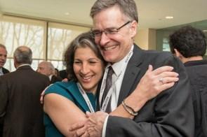 Lisa Schwartz and Dr. Bruce Walker