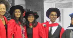 HPP Graduates Four PhD and Five Masters Students