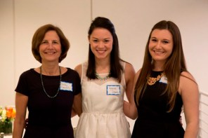 Kathleen Donnelly with Kylerose Delaney and Gaby Berger