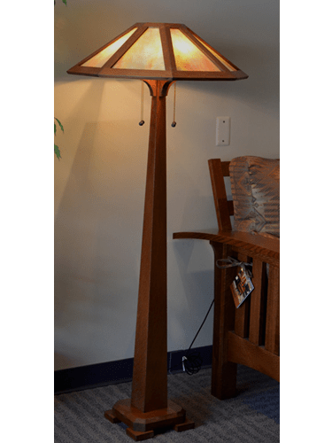 Mission Style Floor Lamps