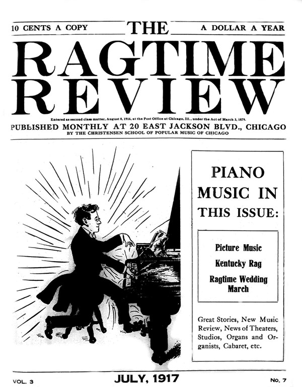 Axel Christensen: The Czar of Ragtime and His Ragtime