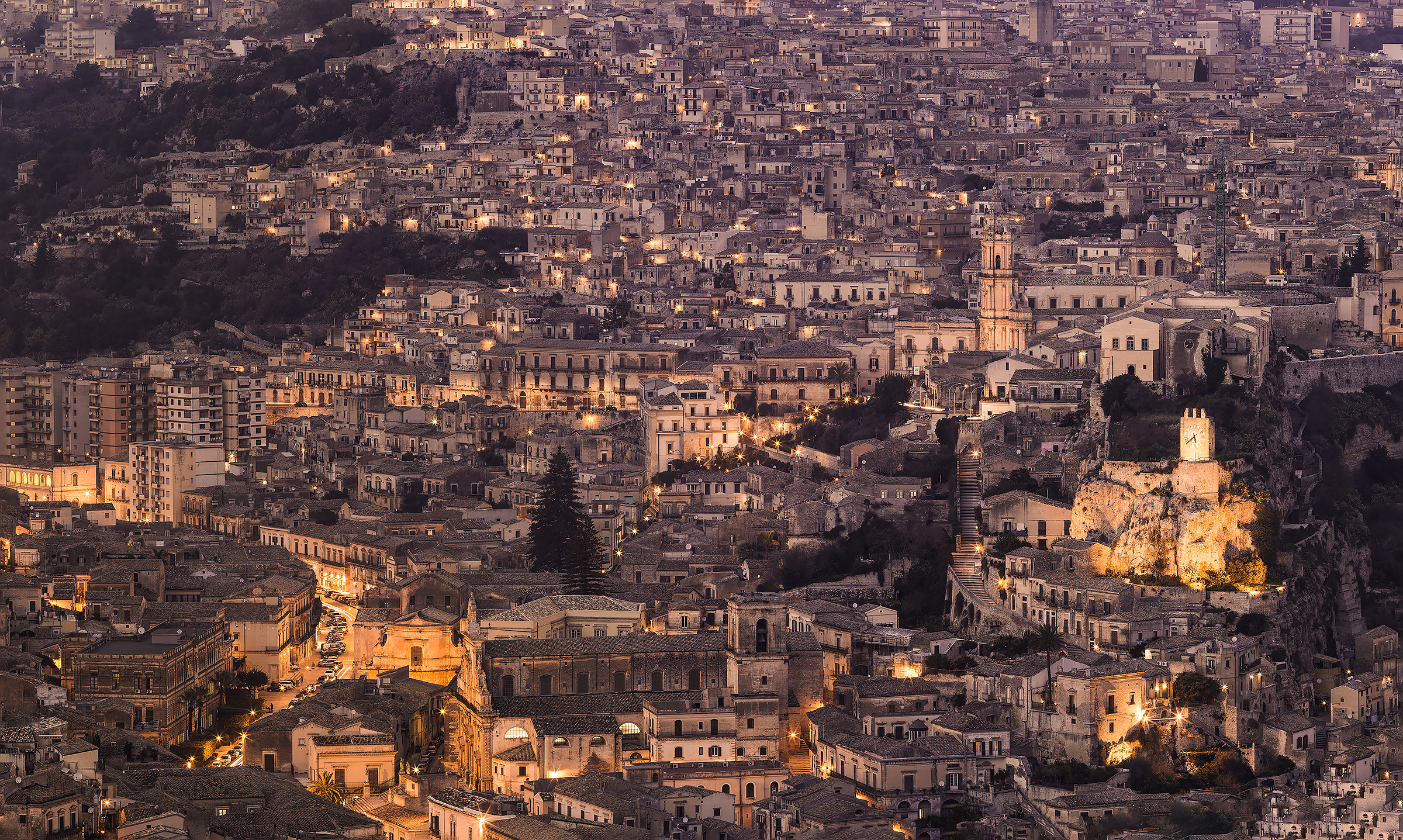 Modica from the top