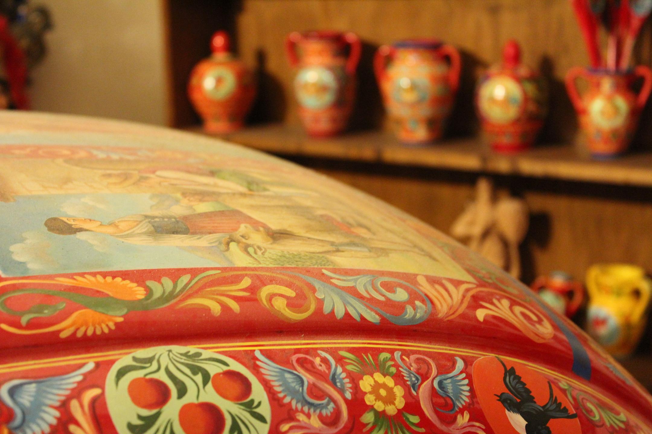 Bottega Rosso Cinabro - Ragusa Ibla