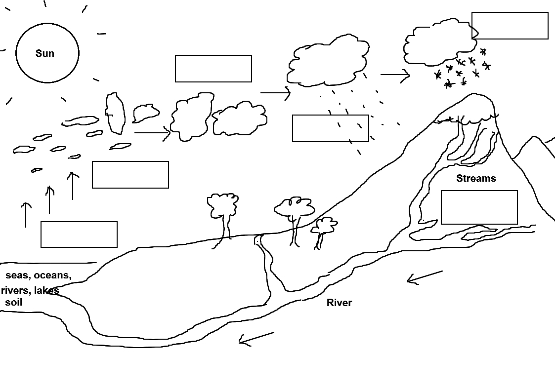 water cycle diagram with questions 50 amp rv outlet wiring science the resources of islamic
