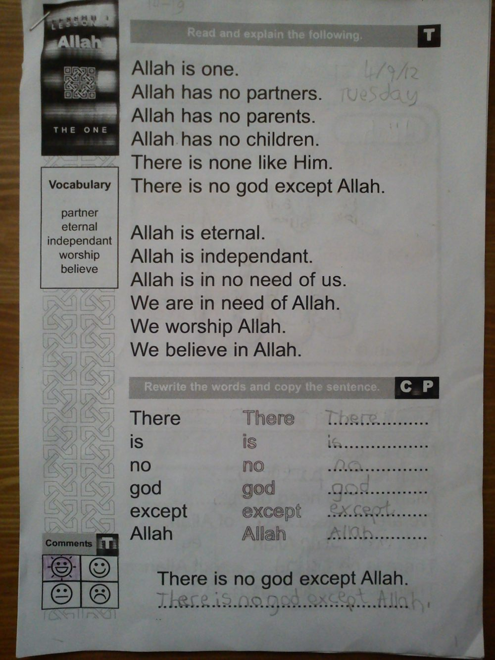 medium resolution of Free Islamic Studies Text Book for Kids   My Faith Islam Grade 1   The  Resources of Islamic Homeschool in the UK