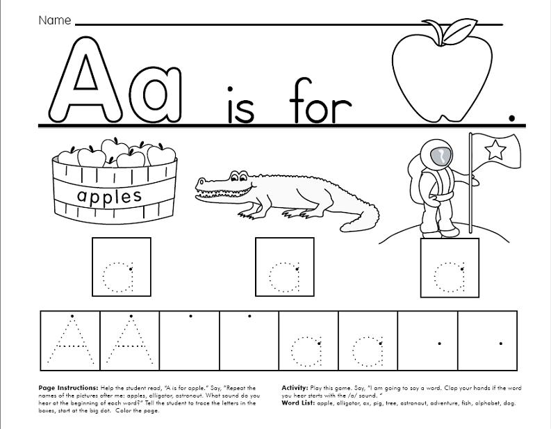 FREE Traceable Alphabet Worksheets (64 pages)