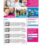 A website for carers trust