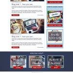 a website for personal portfolio and marketing