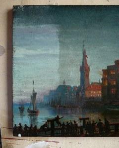 Restaurierung eines Gemäldes