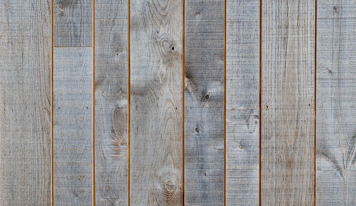 bardage bois vieilli naturellement