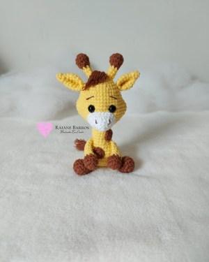 Capa Girafa Amigurumi Baby Rosi Barros