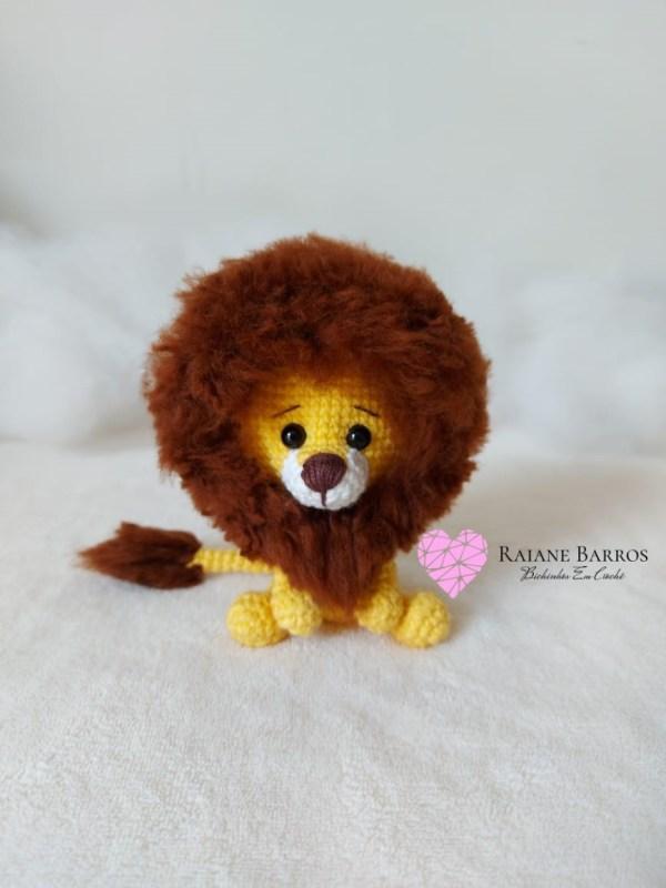 Capa Leão Amigurumi Baby Rosi Barros