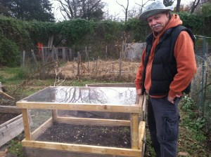 Our First Cold Frame/Mini Greenhouse