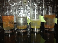 Tomato seeds fermenting
