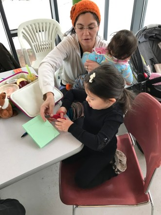 Seed Library meetings are hands-on and interactive.