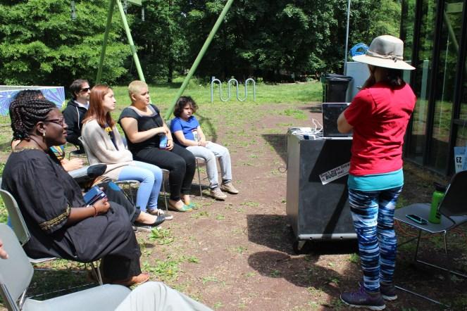 Intro to Seed Saving workshop with Rachel Dawn Davis.