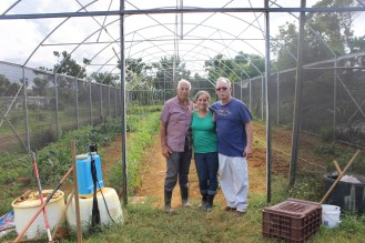 Raíces Disaster Relief Fund will finish repairs on the greenhouse.