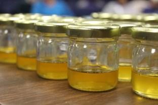 Herbal pain relief oil.