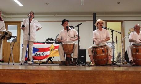 The Raíces Student Ensemble led by Raíces Director Francisco G. Gómez