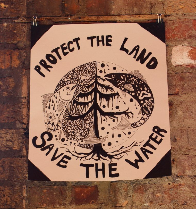 Protect the Land, Save the Water by Ayanna Proctor