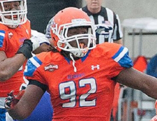 cheaper 51d62 43be6 P.J. Hall Brings Athleticism Raiders Defensive Line Badly Needs