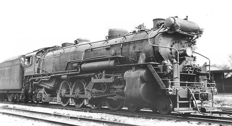 Mohawk L2a Steam Locomotive