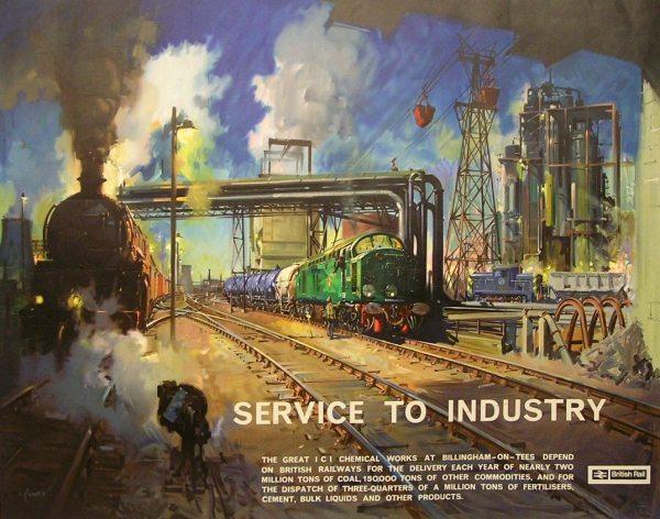 Railway Art Terence Cuneo