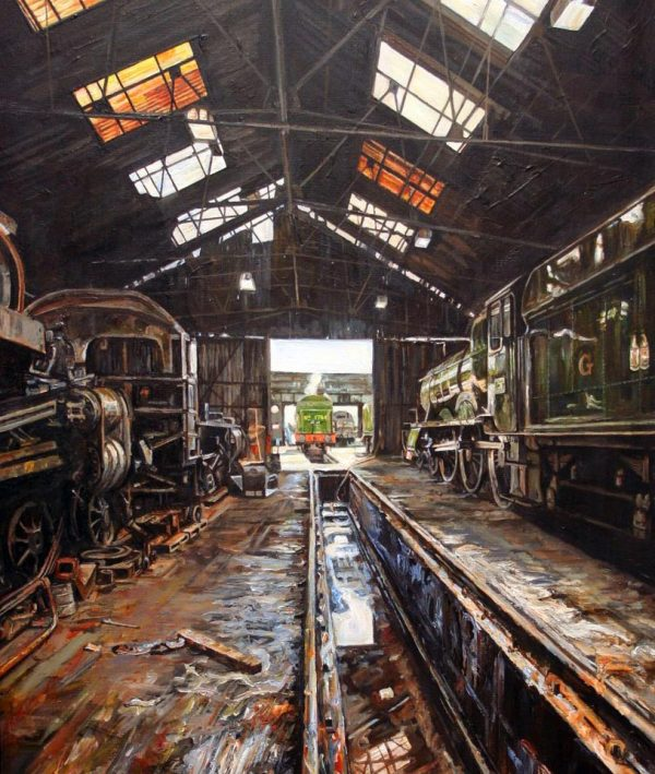 Guild Of Railway Artists Art Trains & Locomotives