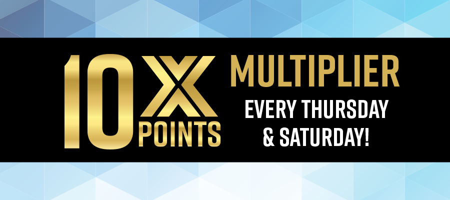 10X Points Multiplier