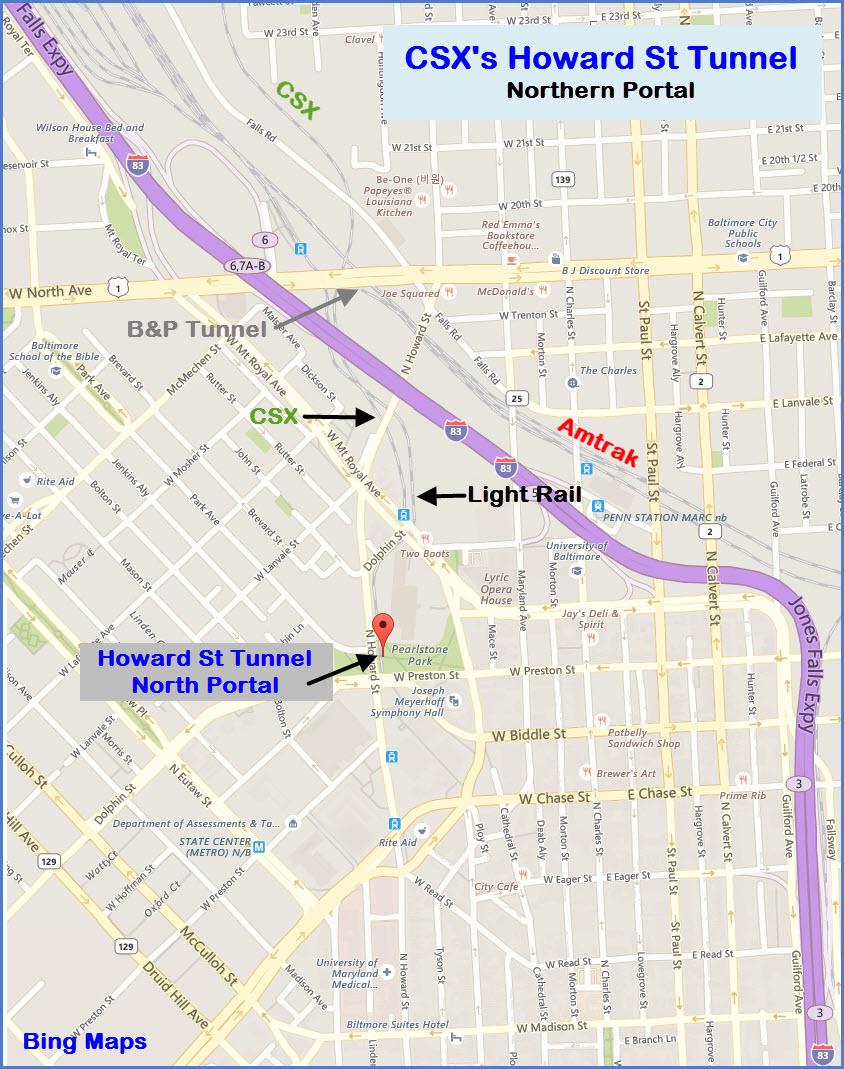 Baltimore Light Rail Map