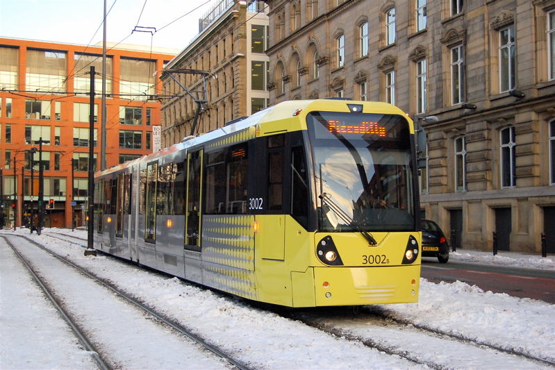 Image result for manchester light rail