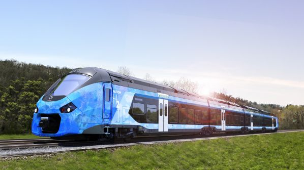 Alstom Unveils Hydrogen Train Concept For French Regions