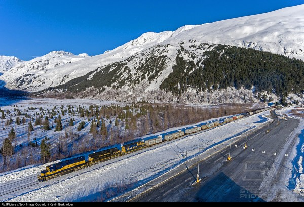 Whittier Tunnel Alaska Map - Year of Clean Water