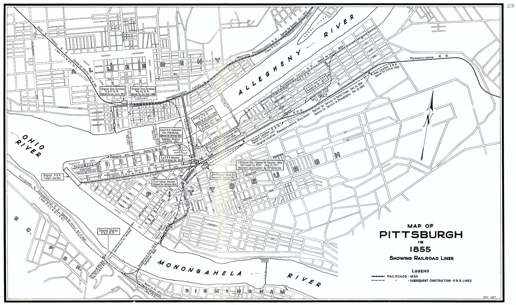 Pittsburg Area Prr Maps