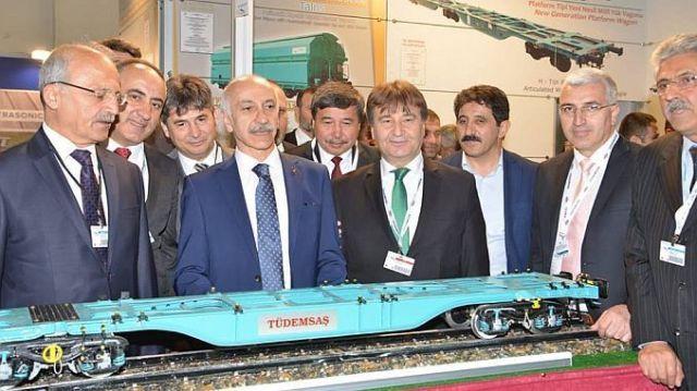 eurasia rail fuari izmirin ev sahipliginde ziyaretciyi agirladi