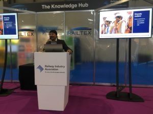 Mark Lomas from HS2 discusses equality and diversity in rail at Railtex