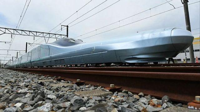saatte km hiz yapan alfa x treni japonyada test edilmeye basladi