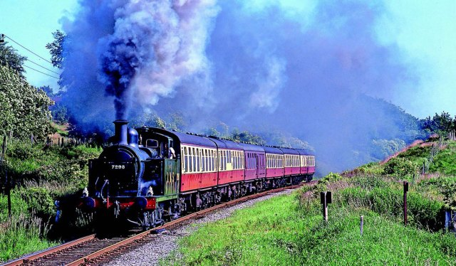 The first former British Railways steam locomotive to be used on the modern-day East Lancashire Railway was LMS 3F 0-6-0 'Jinty' No. 7298, which was owned by Derek Foster. Photo: Mike Taylor