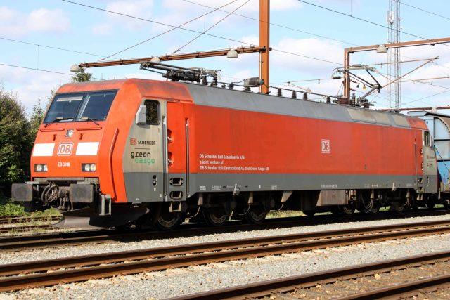 One of the locomotives to undergo the ETCS upgrade