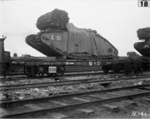 Tank on a wagon