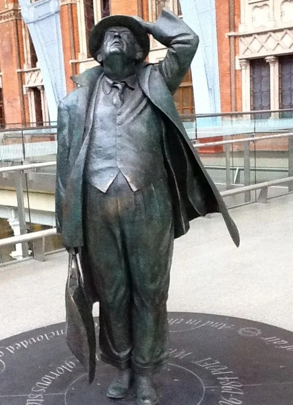 John Betjeman - st pancras station - railway closures - thoughts on beeching cuts